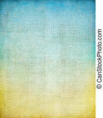 vendimia, pantalla, gradiente