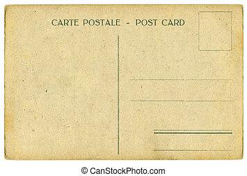 vendimia, postal
