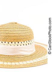 vendimia, sombrero, mujeres