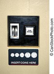 Vending Machine - Close up picture of a vending machine