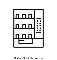 vending machine illustration design