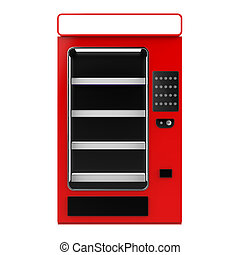 Vending machine - The objects made at 3d