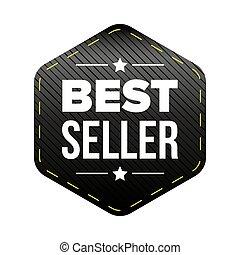 venditore, nero, meglio, pezza