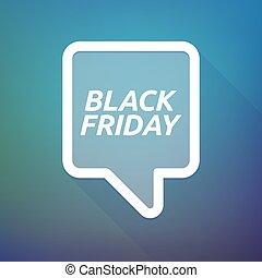 vendredi, noir, tooltip, ombre, long, texte