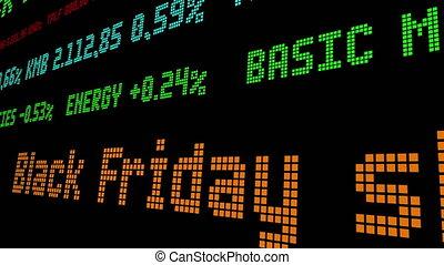 vendredi, shoppers, enregistrement, stockage, noir, $7.4, ticker, billion, dépenser