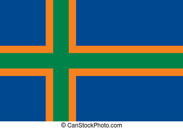 Vendsyssel area flag - Various vector flags, state symbols,...