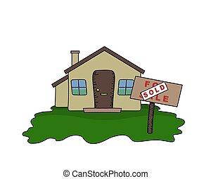 venduto, bungalow