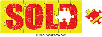 venduto, puzzle
