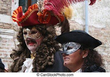 venecia, -, carnaval