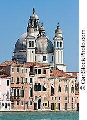 venecia, catedral, santa maría, saludo, della