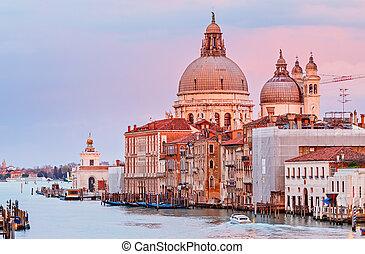 venecia, della, saludo, santa maría