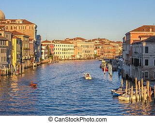 Venecia, ocaso