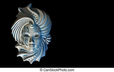 venecian, μάσκα