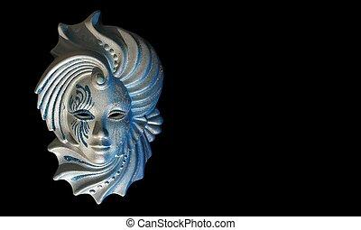 venecian, maska
