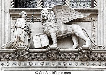 veneciano, león
