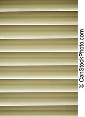 veneciano, ventana, persianas