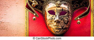 venedig, maske