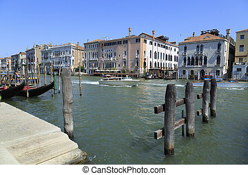 Venedig - Venice in the lagoons of the Adriatic in Italy