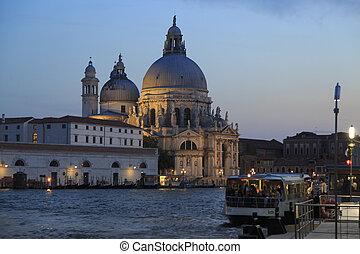 Venedig - Venice in the lagoons of the Adriatic in Italy