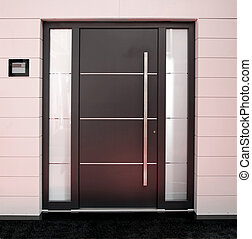 venek dveře