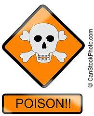 veneno, señal