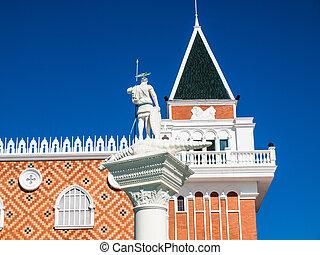 venetian architecture in Venice, Italy