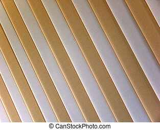 Venetian blind - Photo of two-color striped venetian blind ...