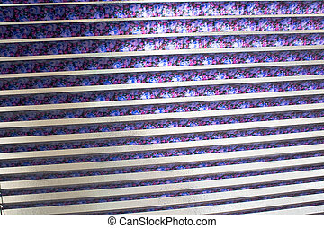 Venetian blinds as background