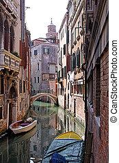 Venetian canal street