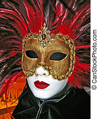 Venetian Carnival Mask - Venetian mask used for Carnival...