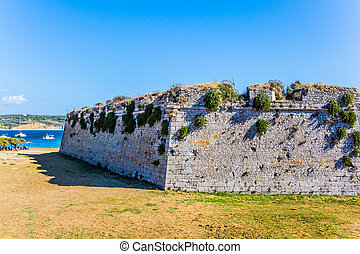 The millennial protective walls - Venetian fort castle ...