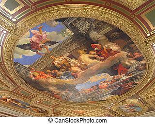 Venetian fresco, Las Vegas