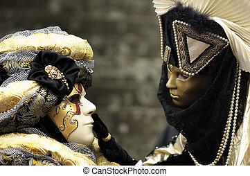 venetian masker, carnaval