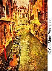 Venetian Water Channel