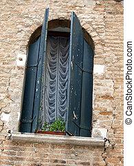 Venetian window - Venice Italy