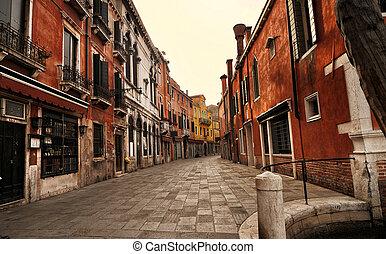 veneza, rua