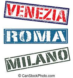 venezia roma milano