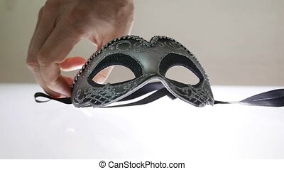 venezianische maske, kirmes