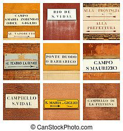 veneziano, collage