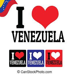 venezuela, etichette, amore, segno