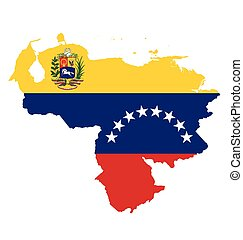 Venezuela Flag - Flag of the Bolivarian Republic of...