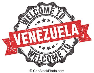 Venezuela round ribbon seal