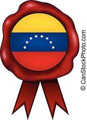 Venezuela Wax Seal - Venezuela wax seal.