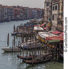 Venice, a view of the Grand Canal