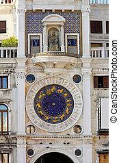 Venice astrology clock