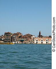 Venice - buildings along Giudecca Canal