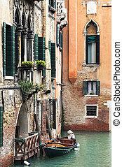 Venice canal,Italy