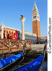 Venice Cityscape - St Mark's Campanile - St Mark's Campanile...