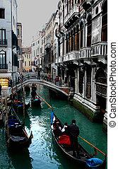 Venice Gondola - Along the streets of Venice Series
