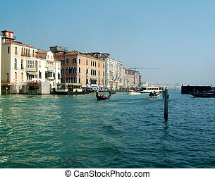 Venice grand canal - Grand canal venice near the Guggenheim...